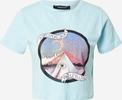 Tricou Trendyol pe albastru deschis / mai multe culori, Vizualizare produs