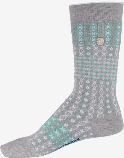 BIRKENSTOCK Socken in blau / hellgrau, Produktansicht
