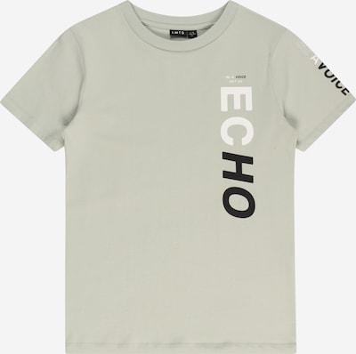 LMTD T-Shirt 'DRIPE' en gris clair / noir / blanc, Vue avec produit