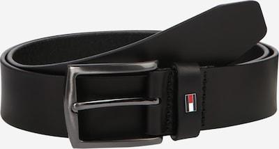 TOMMY HILFIGER Gürtel 'DENTON' in navy / rot / schwarz / silber / weiß, Produktansicht