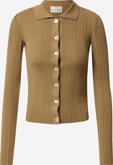 A LOT LESS Knit cardigan 'Ruby' in Olive, Item view