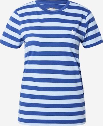 Polo Ralph Lauren Shirt 'STRP RL TEE-SHORT SLEEVE-T-SHIRT' in Blue