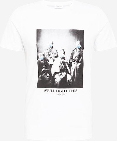 Lindbergh Majica u svijetloplava / crna / bijela, Pregled proizvoda