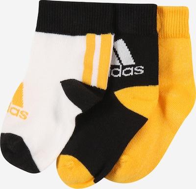 ADIDAS PERFORMANCE Športne nogavice | rumena / črna / bela barva, Prikaz izdelka
