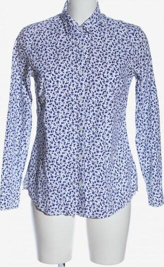Walbusch Langarmhemd in M in blau / weiß, Produktansicht
