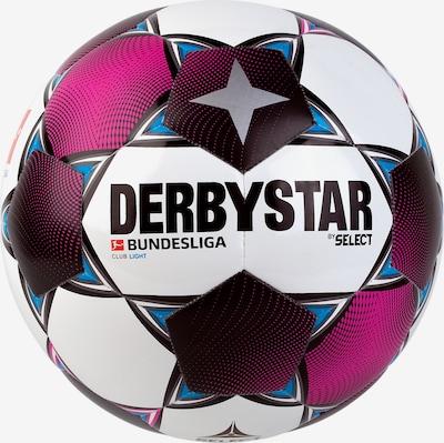 DERBYSTAR Ball in lila / schwarz / silber / weiß, Produktansicht