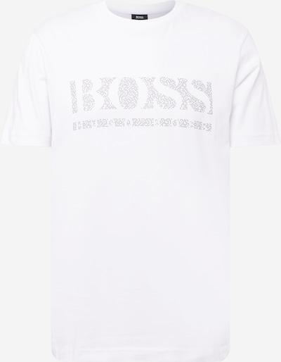 BOSS ATHLEISURE Shirt 'Pixel 1' in schwarz / weiß, Produktansicht
