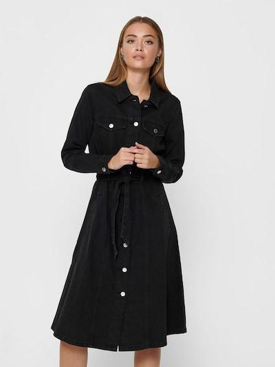 JACQUELINE de YONG Kleid in black denim, Modelansicht