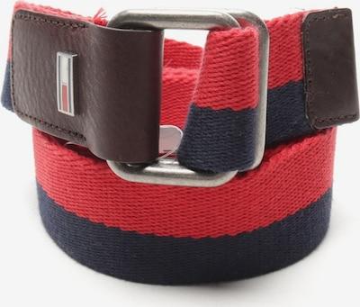 TOMMY HILFIGER Gürtel in XXL in blau / rot, Produktansicht