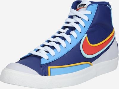 Nike Sportswear Sneaker '77 Infinite' in hellblau / dunkelblau / orangerot, Produktansicht