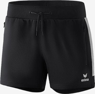 ERIMA Shorts in schwarz / weiß, Produktansicht