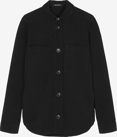 Marc O'Polo Jersey-Overshirt in schwarz, Produktansicht