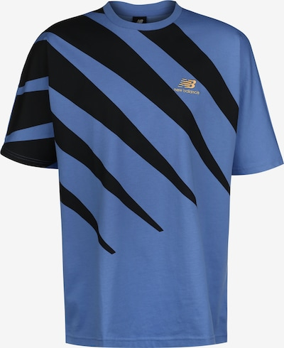 new balance T-Shirt 'Athletics Prong' in blau / schwarz, Produktansicht