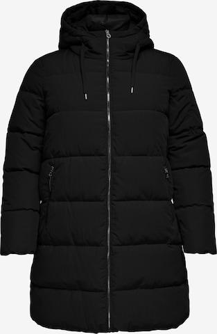 ONLY Carmakoma Płaszcz zimowy 'Dolly' w kolorze czarny