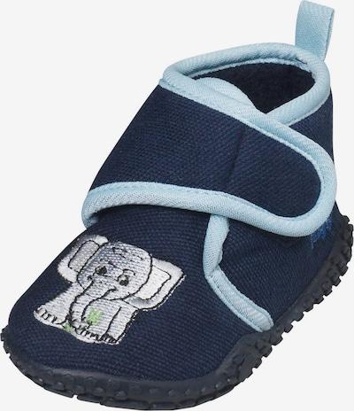 PLAYSHOES Pantofle 'Elefant' - marine modrá / světlemodrá / světle šedá, Produkt