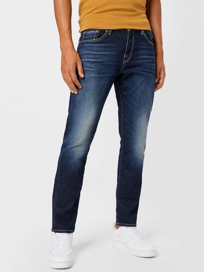 SELECTED HOMME Jeans 'SCOTT' i mörkblå, På modell