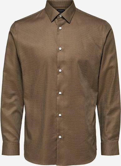 SELECTED HOMME Overhemd in de kleur Lichtbruin, Productweergave