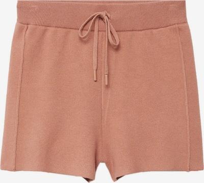 Pantaloni 'Lunera' MANGO pe maro deschis, Vizualizare produs