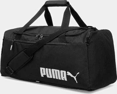 PUMA Mittelgroße Trainingstasche 'Fundamentals No. 2' in schwarz, Produktansicht
