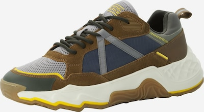 CAMEL ACTIVE Sneaker in navy / braun / gelb / hellgrau / schwarz, Produktansicht