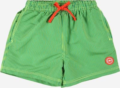 Sportinis maudymosi kostiumėlis iš CMP, spalva – nefrito spalva / šviesiai žalia / tamsiai oranžinė / balta, Prekių apžvalga