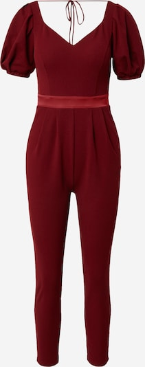 Skirt & Stiletto Jumpsuit in melone / dunkelrot, Produktansicht