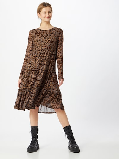 VILA Dress 'DAVIS' in Brown / Black, View model