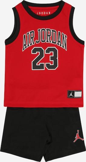 Jordan Komplekts, krāsa - sarkans / melns, Preces skats