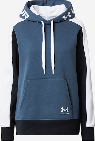 UNDER ARMOUR Camiseta deportiva 'Rival' en azul / azul oscuro / blanco, Vista del producto