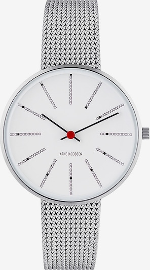 Arne Jacobsen Arne Jacobsen Damen-Uhren Analog Quarz ' ' in silbergrau, Produktansicht