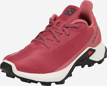 SALOMON Athletic Shoes 'ALPHACROSS 3' in Red