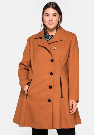SHEEGO Přechodný kabát - koňaková, Model/ka