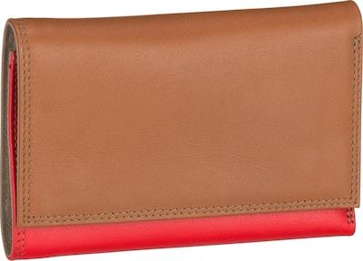 mywalit Portemonnaie in braun / grau / rot, Produktansicht