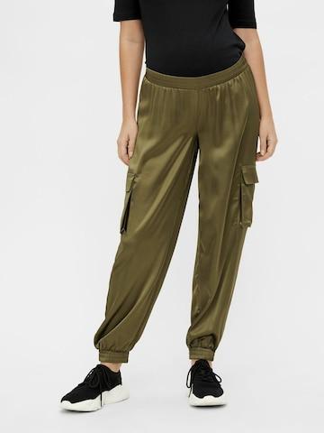 MAMALICIOUS - Pantalón cargo 'MLASA' en verde