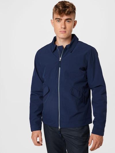 Casual Friday Övergångsjacka 'Oakford 0024 hybrid jacket' i marinblå: Sedd framifrån