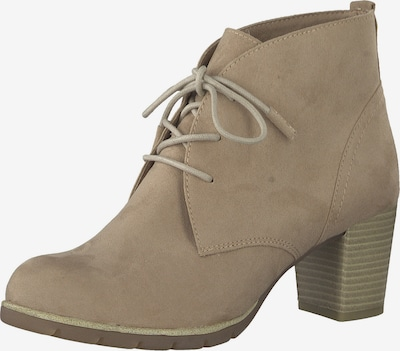 MARCO TOZZI Lace-up bootie in nude, Item view