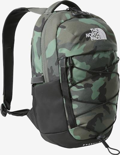 THE NORTH FACE Rucksack 'Borealis' in khaki / oliv / mint / schwarz / weiß, Produktansicht