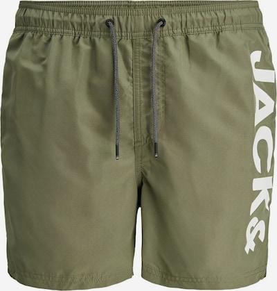 JACK & JONES Shorts de bain en kaki / olive, Vue avec produit