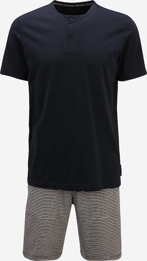 Pijama scurtă Marc O'Polo pe bleumarin / alb, Vizualizare produs