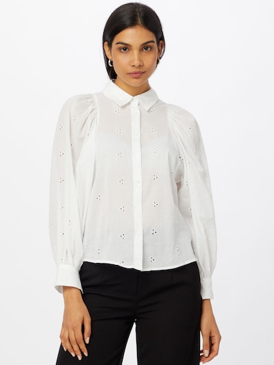 OVS Blouse 'CAMICIA' in de kleur Wit, Modelweergave