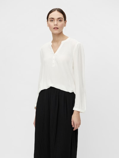 OBJECT Blouse in White, View model