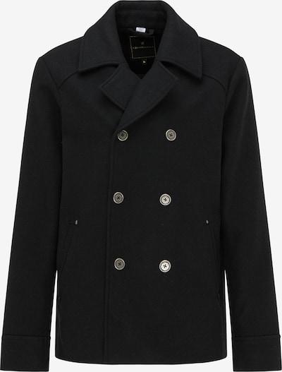 DreiMaster Klassik Mantel in schwarz, Produktansicht
