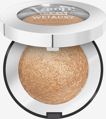 PUPA Milano Eyeshadow 'Vamp! Wet & Dry' in Gold