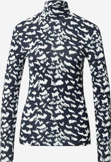 BOSS T-shirt 'Emerie' en bleu nuit / blanc, Vue avec produit
