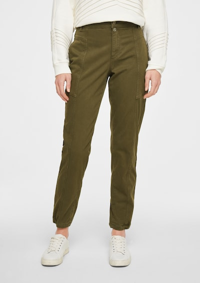 comma casual identity Hose in khaki, Modelansicht