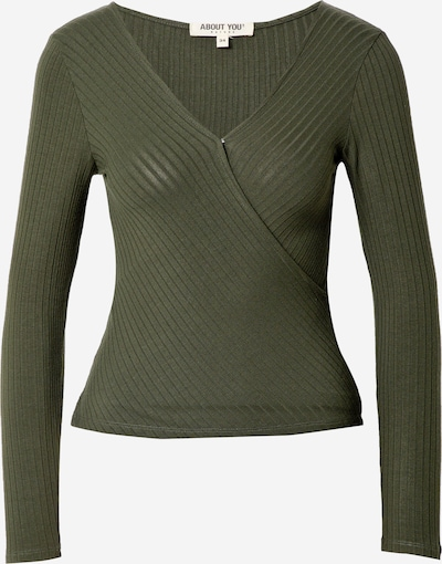 ABOUT YOU Shirt 'Kimberly Shirt' in khaki, Produktansicht