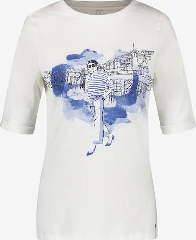 GERRY WEBER Shirt in blau / schwarz / weiß, Produktansicht