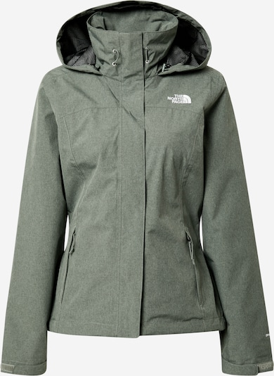 THE NORTH FACE Outdoorjas 'SANGRO' in de kleur Groen / Wit, Productweergave