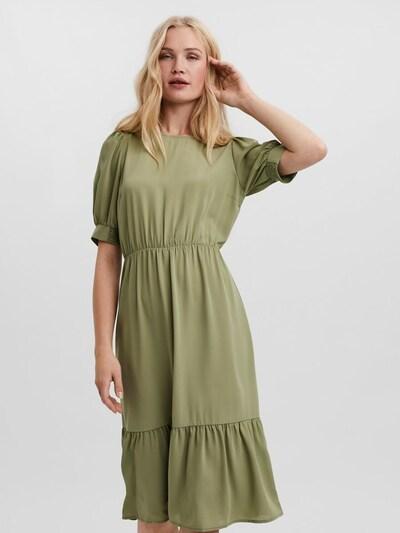 VERO MODA Kleid 'Vega' in oliv, Modelansicht