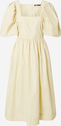 Gina Tricot Рокля 'Martha' в пастелно жълто: Изглед отпред
